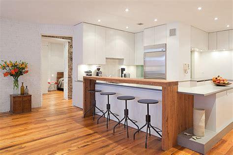 kitchen island with raised bar 12 unforgettable kitchen bar designs