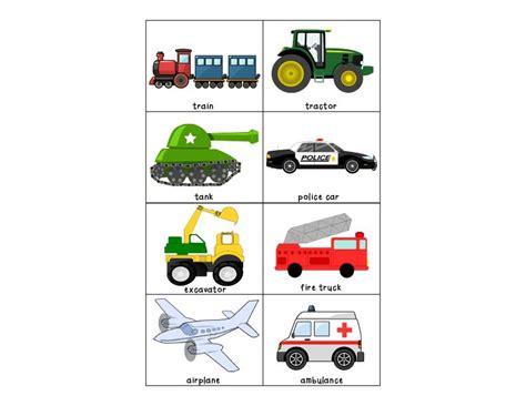 occupations amp vehicles matching activity preschool 494 | 04753941955ad4595e85a84706d84df3