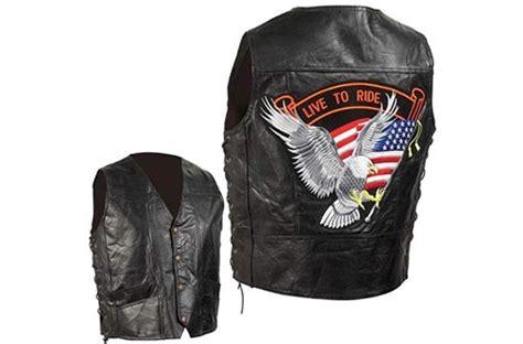 Top 10 Best Leather Motorcycle Vests For Men & Women