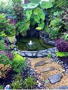 Water Garden Beautiful Outdoor Water Garden Flowers Gardening Ideas Pinterest
