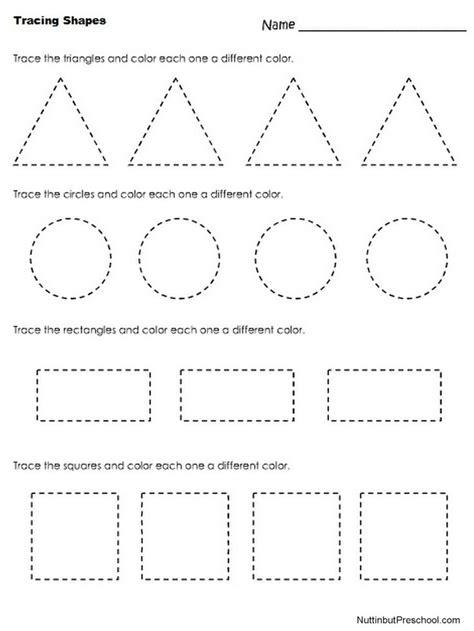 nuttin  preschool forme geometriche attivita