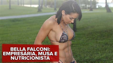 bella falconi se divide entre musa fitness e pós em nutrição leio 10 artigos científicos por