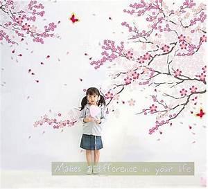 1000 idees sur le theme pochoirs de mur d39arbre sur With chambre bébé design avec faire part fleur de cerisier