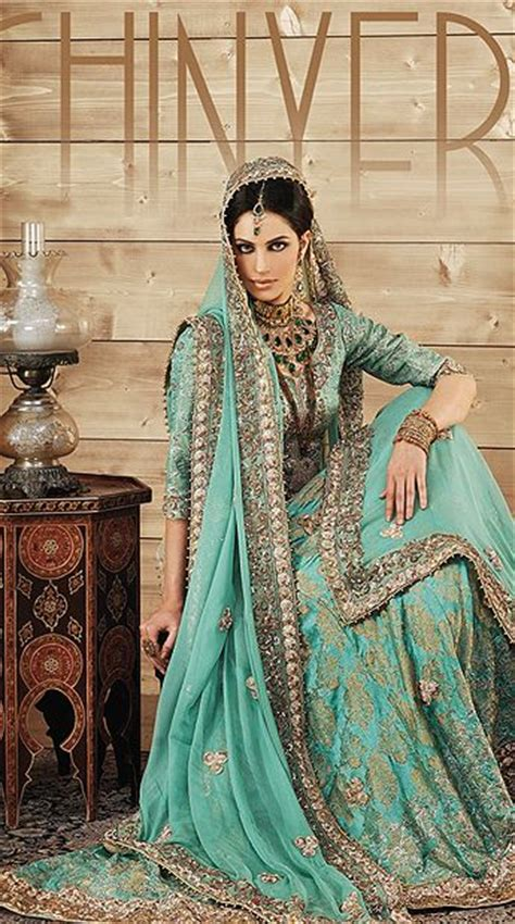 Gorgeous Embroidered Bridal Pakistani Dresses Design Ideas