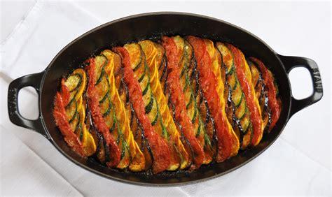 recette de cuisine de noel tian de légumes d été stéphane décotterd