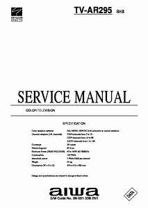 Aiwa 27596004 Aiwa Tv Service Manual Pdf Diagramas De