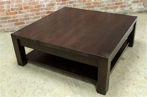 square farmhouse coffee table square parsons coffee table in espresso ecustomfinishes
