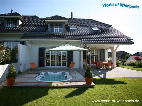 Whirlpool Für Den Garten Gebraucht by Eingelassene Whirlpools Whirlpools Nrw F 252 R Den Garten