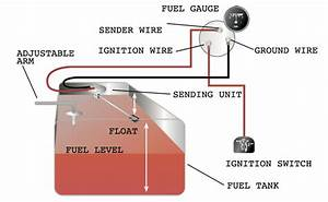 Motorcycle Fuel Gauge Wiring Diagram