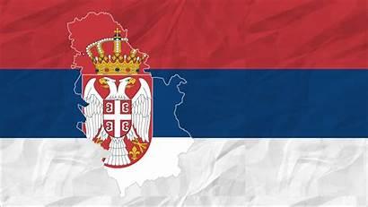 Flag Serbia Serbien Wallpapers Ist Kosovo Zuerst