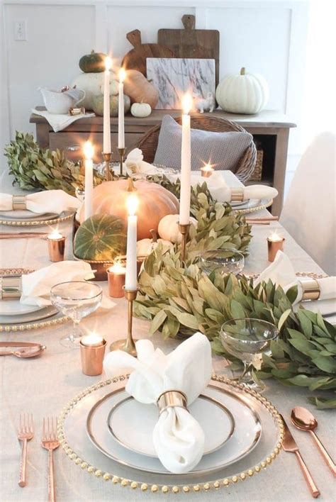 modern thanksgiving tablescape ideas shelterness