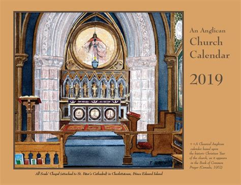 anglican church calendar