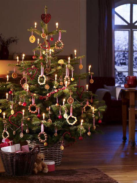 weihnachtsbaumschmuck aus der natur