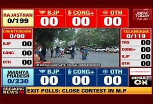 Election Results 2018: Watch live coverage on India Today TV
