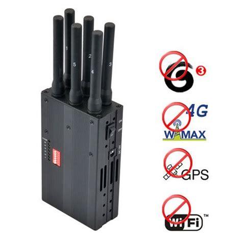 portable  wimax  gps wifi signal blocker jammer