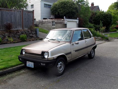 renault car seattle 39 s classics 1977 renault le car