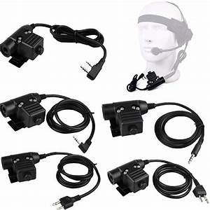 Z Tactical Airsoft U94 Ptt Radio Headset Adapter For 3 5mm