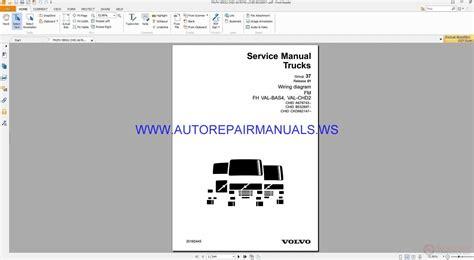 volvo fm fh trucks wiring diagrams service manual 20160445