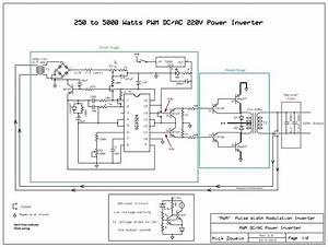 Circuit Diagram Of A 1500watt Inverter