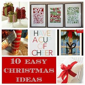 Pinterest Easy Christmas Decorating Ideas Home Made Modern
