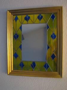 Peinture Argentée Spéciale Miroir : miroir bleu et or h57 l47 100 photo de miroir d co ~ Dailycaller-alerts.com Idées de Décoration