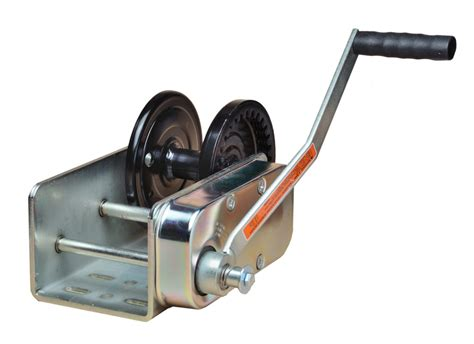 Winch Boat R by Manual Electric Winches R J Machine