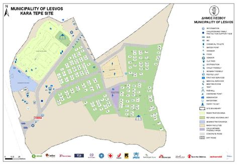 Document  Lesvos, Kara Tepe Site Map