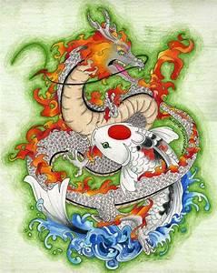 dragon koi - Google Search | Tattoo Ideas | Koi dragon ...
