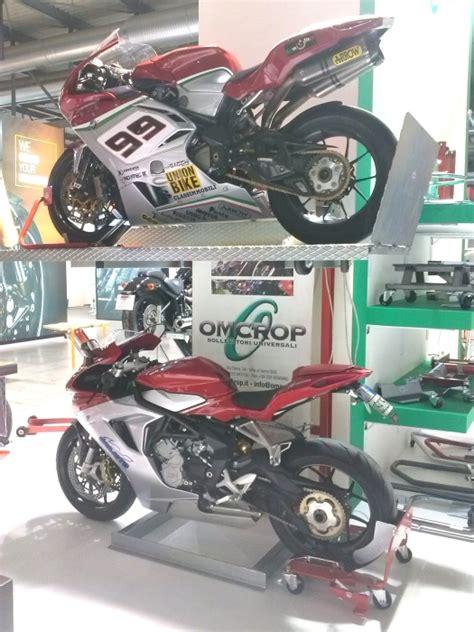 Pedana Solleva Moto by Pedana Sollevamento Moto Omcrop Sl 09 150cm Passione