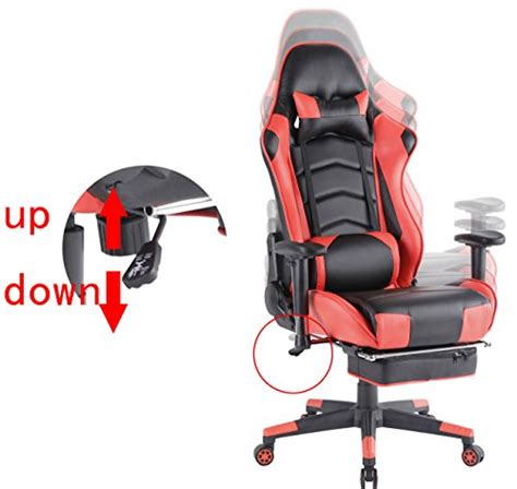 chaise de bureau gaming top gamer ergonomique gaming pivotant ordinateur chaise de