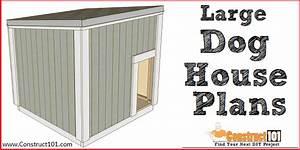 Large Dog House Plans - Free Pdf Download