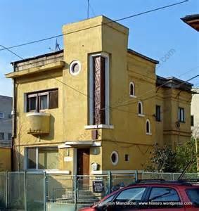 deco style house bucharest architecture