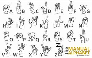 the asl manual alphabet queer asl With fingerspelling letters