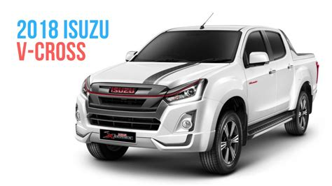 Isuzu 2019 : 2019 Isuzu D-max V-cross To Likely Get New Engine And