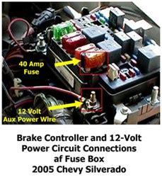 activating  volt accessory circuit