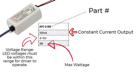 Led Drivers Constant Current Voltage