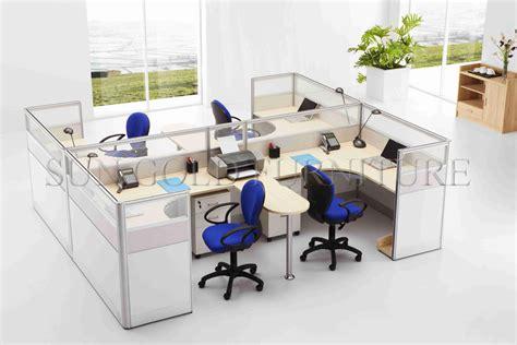 poste de travail bureau ouvrir le poste de travail de siège du compartiment 4 de