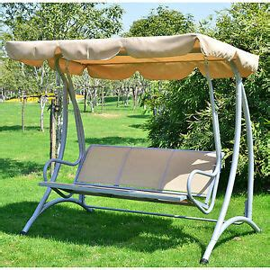 Loveseat Swing Outdoor by 3 Person Outdoor Swing Seat Patio Hammock Furniture Bench
