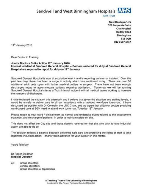 Replay: Junior doctors' strike: Sandwell Hospital recalls