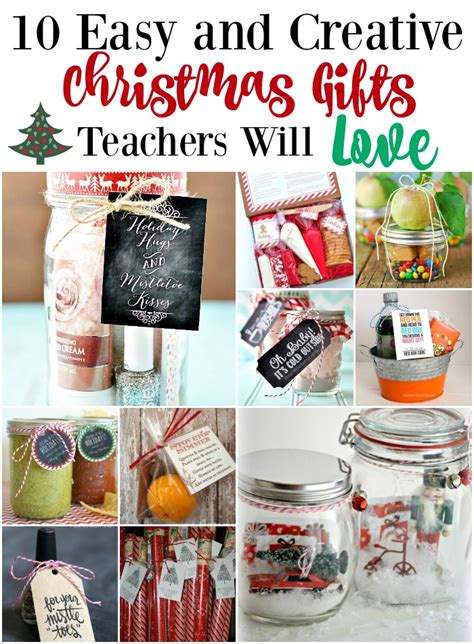 10 easy and creative christmas gifts teachers will love