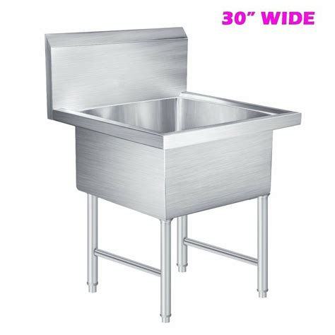 commercial stainless steel kitchen utility sink commercial stainless steel kitchen prep utility laundry