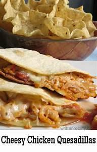 Lisa Jones's Chicken And Cheese Quesadillas Recipe Dishmaps