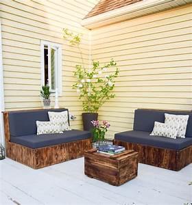 Möbel Für Die Terrasse : diy sitzm bel aus paletten f r die terrasse und das ~ Michelbontemps.com Haus und Dekorationen