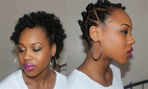 my fair hair: Flat Twists Bantu Knots: Tips for Styling