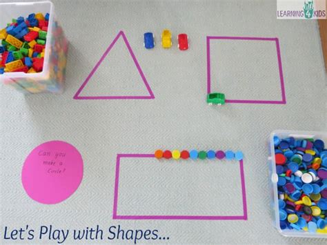 on learning shapes activities learning 4 297 | Lets play with shape fun hands on activities for learning about shapes.