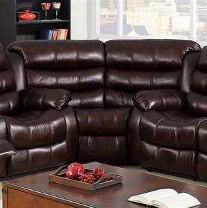 berkshire recliner berkshire sofa w center console brown With berkshire recliners