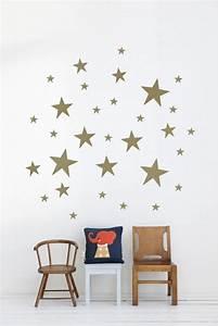 Goldene Punkte Wand : wandsticker kinderzimmer farbe und freude an der ~ Michelbontemps.com Haus und Dekorationen