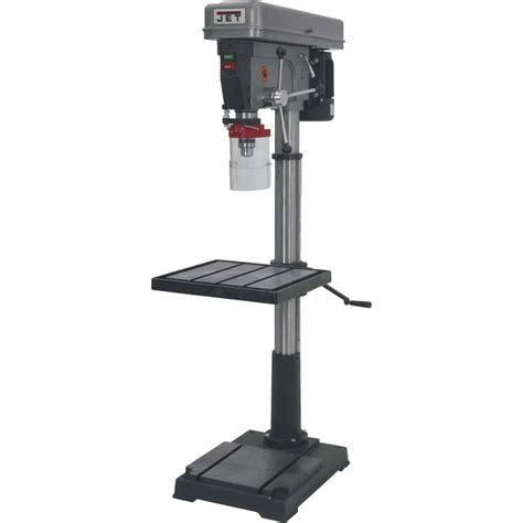 jet floor mount drill press  model   jet