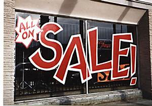 Are Store Sale Signs Great Or Showing Us The Extreme Mark Up Of Products