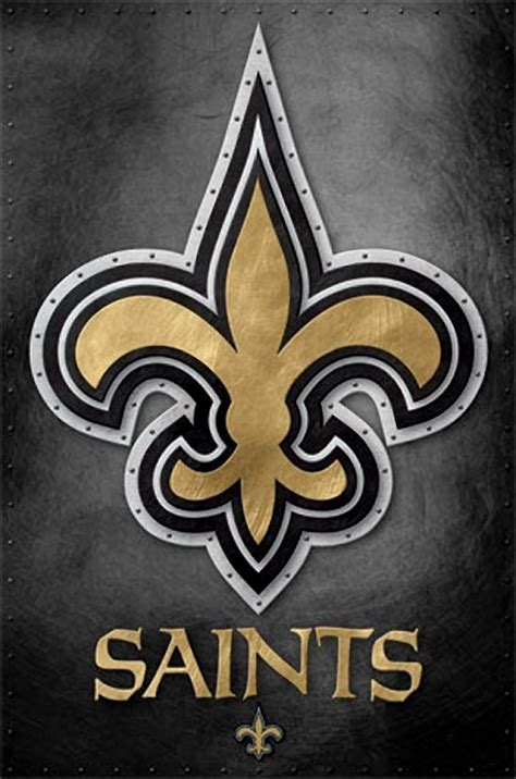 New Orleans Saints Logo 13 Wall Poster